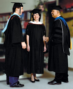 academic gowns