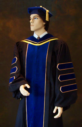 phd gown